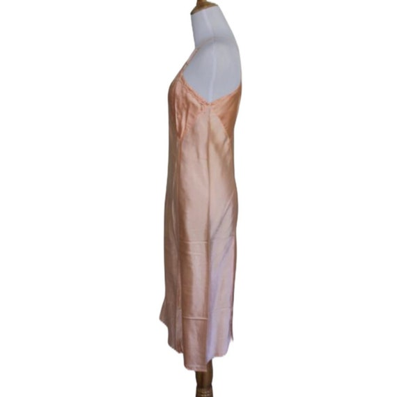 Vintage 30s 40s Moon Slip Dress - Size Small - image 8