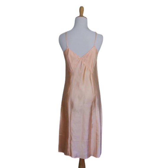 Vintage 30s 40s Moon Slip Dress - Size Small - image 3