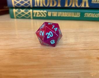Fairytail Handmade Sharp Edge Polyhedral D20