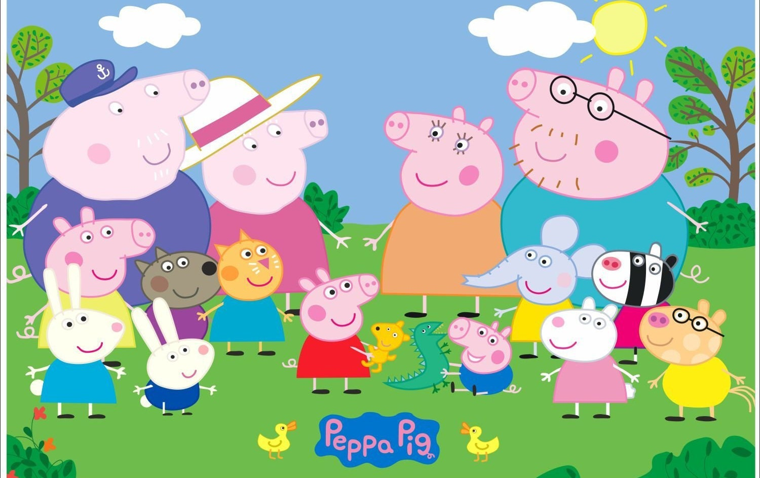 Peppa Pig Wallpaper Hd Simplexpict1st Org
