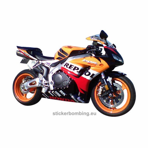 Stickers Set For Moto Honda Cbr 1000 Rr Repsol Etsy