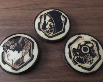 Overwatch Spray Coasters
