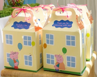 PDF DOWNLOAD Peppa Pig House Favor Box