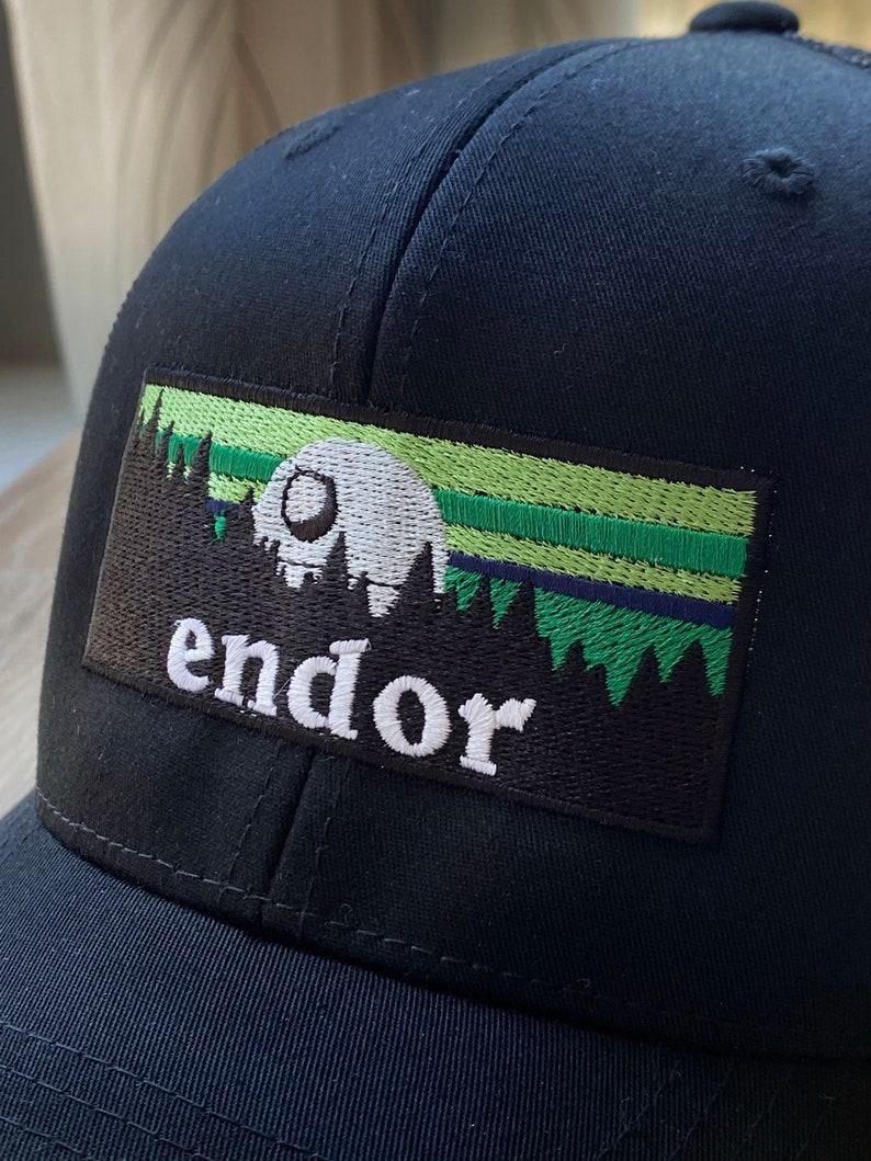 Endor Star Wars Hat  Star Wars Gift  Death Star Trucker Hat
