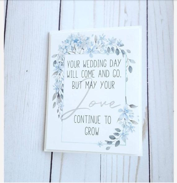 Wedding Card Marriage Card Congratulations Card Your Etsy
