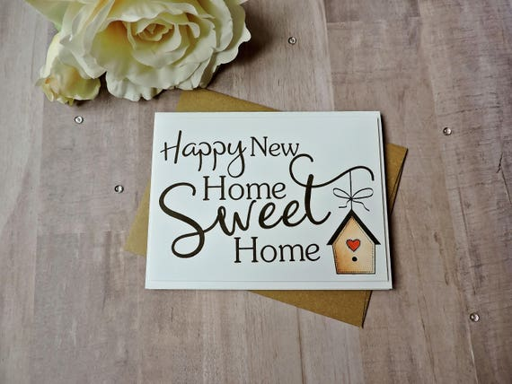 Happy new home sweet home new home card congratulations card etsy image 0 m4hsunfo