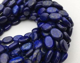 "AA 13x18mm Natural Egyptian Lapis Lazuli Gemstone Oval loose Beads 15/"""