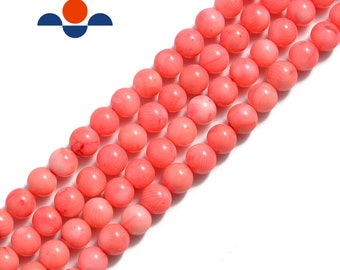 Pcs Art Hobby DIY Jewellery Making Crafts Red Coral Faceted Round Beads 6mm 60