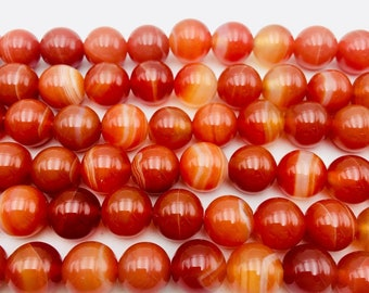 M Natural Carnelian 8x25mm Carved Long Oval beads 15.5 Strand 2mm Hole Routinely enhanced for jewelry making