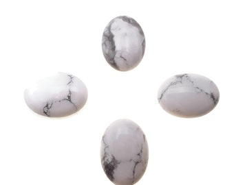 Howlite Cab Round 6mm Approximately 10 Carat For Jewelry Making 30739