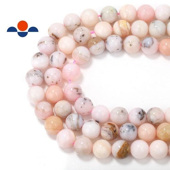 natural pink opal 10mm 12mm round gemstone beads- 15.5/'/'--1 strand3 strands
