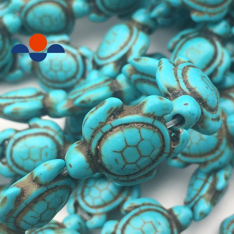 Blue Magnesite Turquoise Nugget Loose Beads 15.5/'/' Long Per Strand