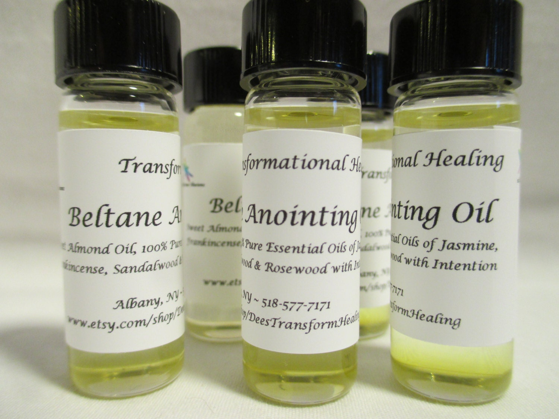 Beltane Anointing Oil - 4 ML / 1 Dram - Ritual, Journey, Meditation, Dream,  Spring, Wicca, Spiritual, Fairy - Dees Transformational Healing