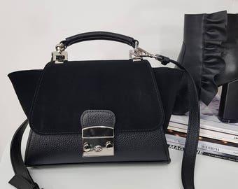 Leather crossbody purse, leather handbag, women leather bag, leather satchel, leather bag purse, women leather bag, womens leather crossbody