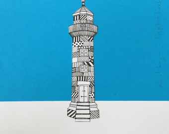 Whitby Lighthouse Fine Art Print