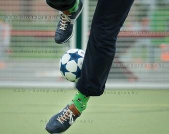 Soccer | Foosball Socks | Socks | Men socks | Colorful socks | Cool socks | Unique socks | Patterned socks | Crazy socks