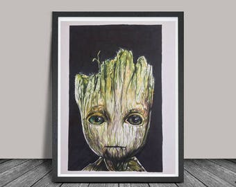 Groot Limited edition print