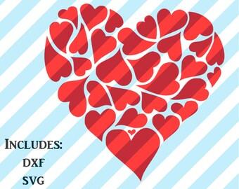 Cute Valentine's Day Shirt SVG DXF JPEG File, Cupid, Cute Kid's Shirt