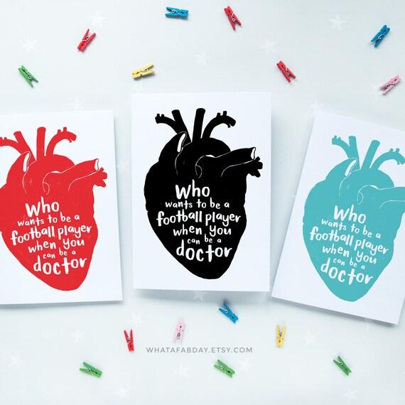 graduation card doctor card geeky card card for doctor etsy