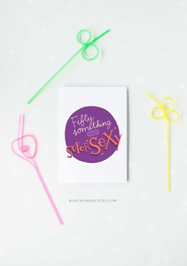 Printable Happy Birthday Card For 50th Or Over