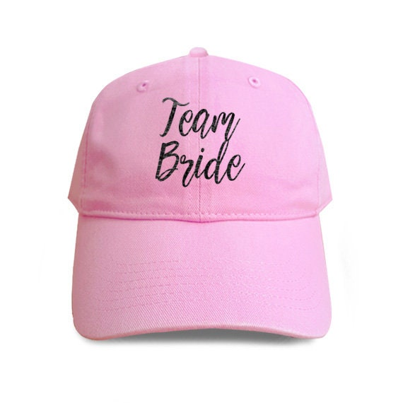 888a61474a6 Team Bride Baseball Hat Cotton Embroidered Cap Denim Unisex