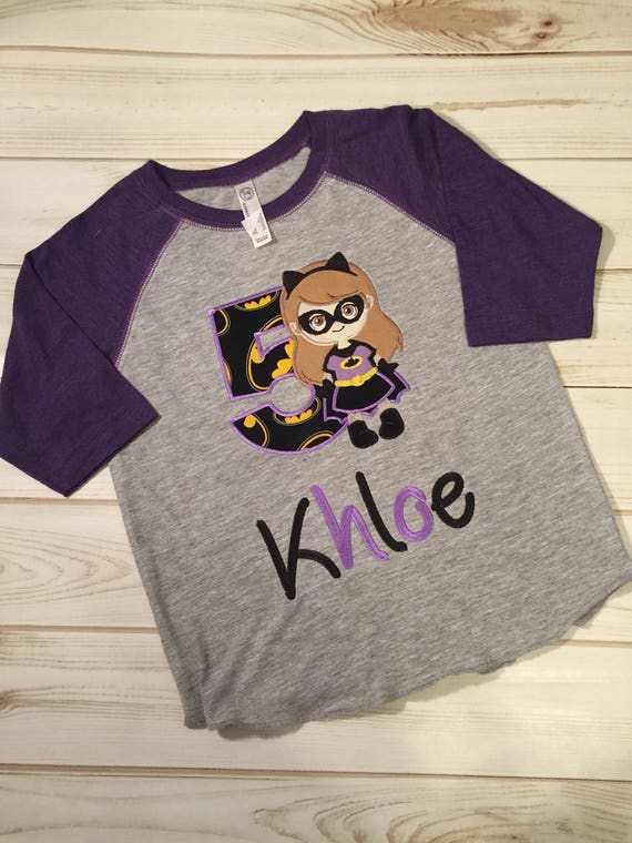 Batgirl Birthday Shirt