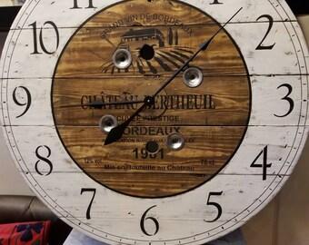 Wooden Spool Ideas Diy Cable Reel