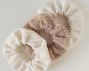 Organic Cotton Scrunchie