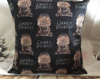 Throne 16x16 throw pillow slip