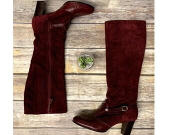 778cda9dfe91b Vintage boho boots   Etsy