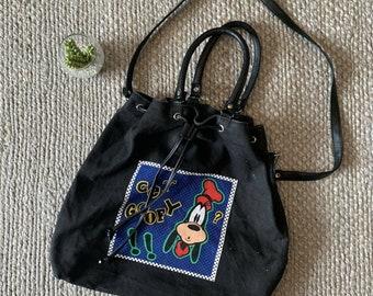 Walt Disney World Vintage Style Collectible Canvas Tote Bag~Orange Or Blue