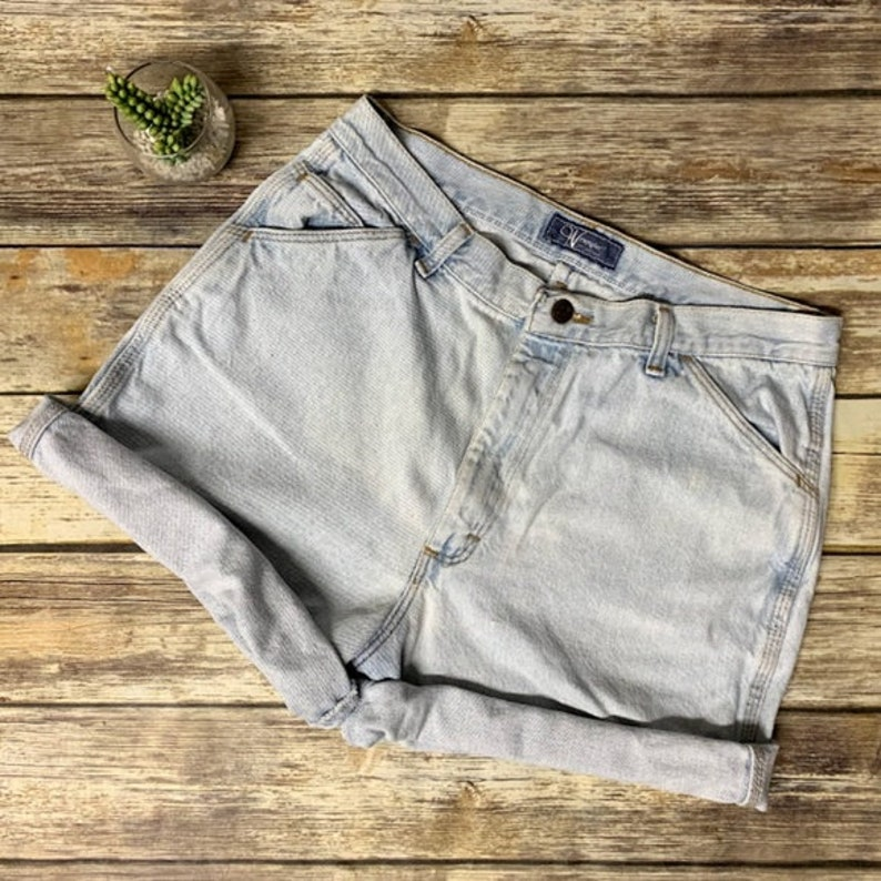 61f1a36e3d Vintage Wrangler for Women High Rise Denim Shorts Womens | Etsy