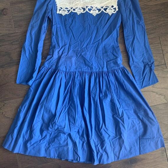 Vintage Gunne Sax Dress, Vintage Jessica McClinto… - image 2