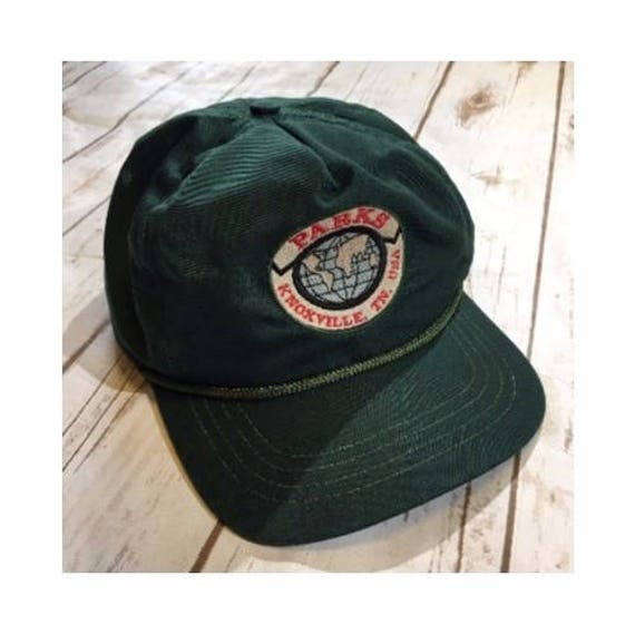 Vintage Knoxville Tennessee Hat Vintage Tennessee Hat Parks Etsy