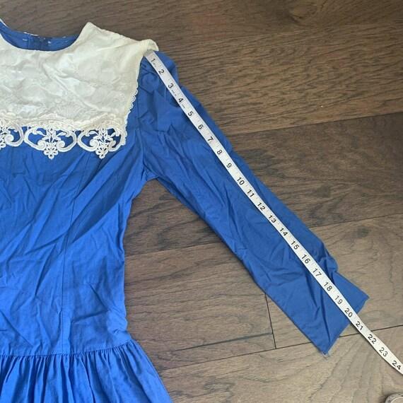 Vintage Gunne Sax Dress, Vintage Jessica McClinto… - image 9