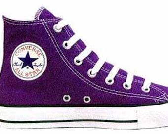 c59ddc7eacadf Converse - Chuck Taylor - All Star - Hi Top - 1J622 - Purple - Brand New
