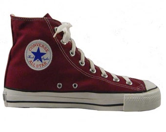 4d37ce6ce9828b Made in USA - Converse - Chuck Taylor - All Star - Hi Top - 19613 Maroon -  Brand New in Box   Size 12