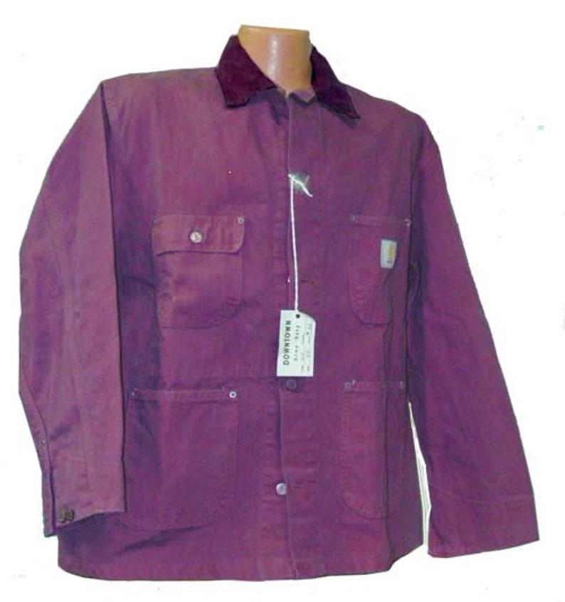 b2d2b5c662e8d Carhartt 6C Coat / Chore Coat Custom colored - Size 46