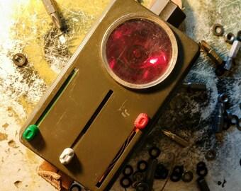 Vintage Wietek military hand coding torch flashing light