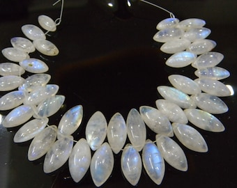 ON SALE 80/% discount exclusive quality Gray Moonstone faceted Drops briolette size 6x9-7x10 mm 8 inch strand  approx