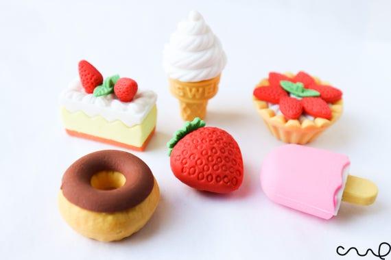 IWAKO Japanese Novelty Food Puzzle Eraser Rubbers IWAKO Ice Lolly Erasers