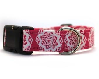 Pink Mandala Collar