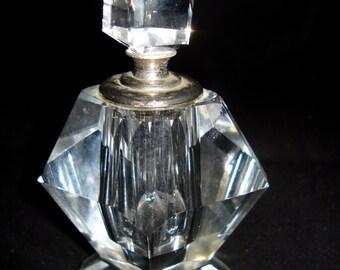 Glass/chrystal Perfume Bottle