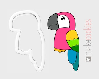 Parrot 266-D781 Cookie Cutter Set