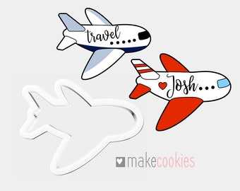 Airplane 107 Cookie Cutter Set