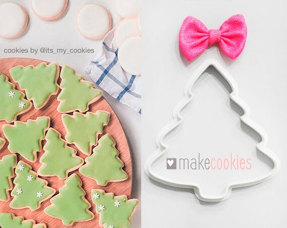 Christmas Tree Cookie Cutter Fondant Cutters Christmas Cookie Cutters