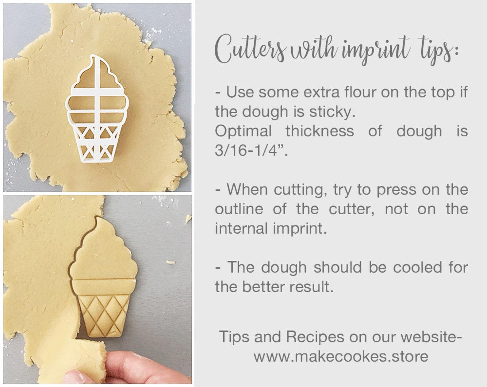 ballet shoe cookie cutter, pointe cookie cutter, ballet slippers, fondant cutter