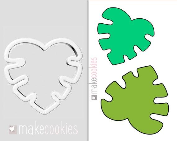 Cinco de mayo Jungles Cookie Cutter Fiesta cookie cutters Tropical Leaf Cookie Cutter Fondant Cutter