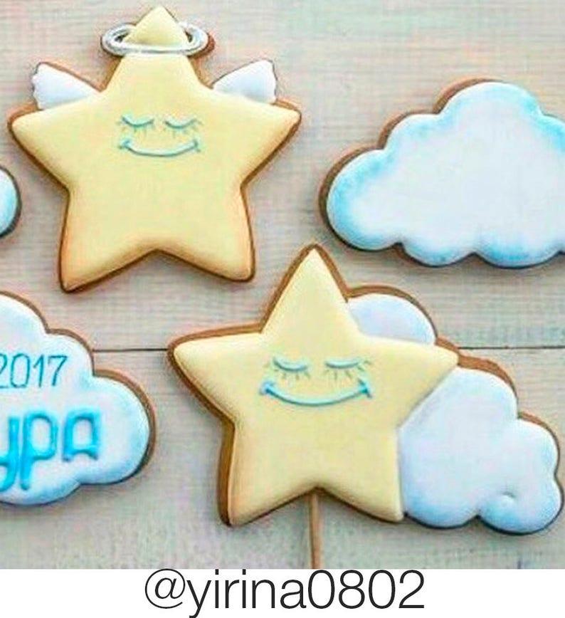 Birthday Cutters Little Star Cookie Cutter #3 Baby Shower Cookie Stamp