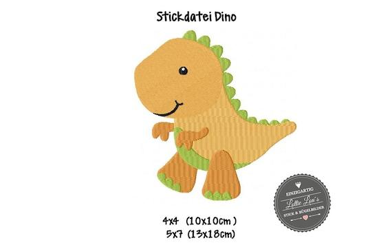 Schablone Dinosaurier T-Rex 7 Saurier - BA08